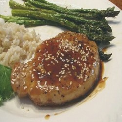Honey glazed Pork Chop