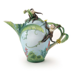 Monkey Jungle Fun Teapot