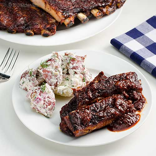 barbecue ribs  riff