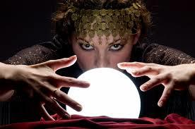 gypsy woman crystal ball