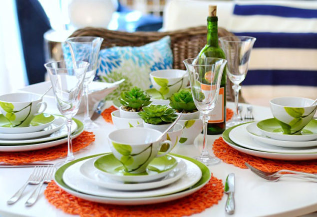 Yes to Creative Table Settings!